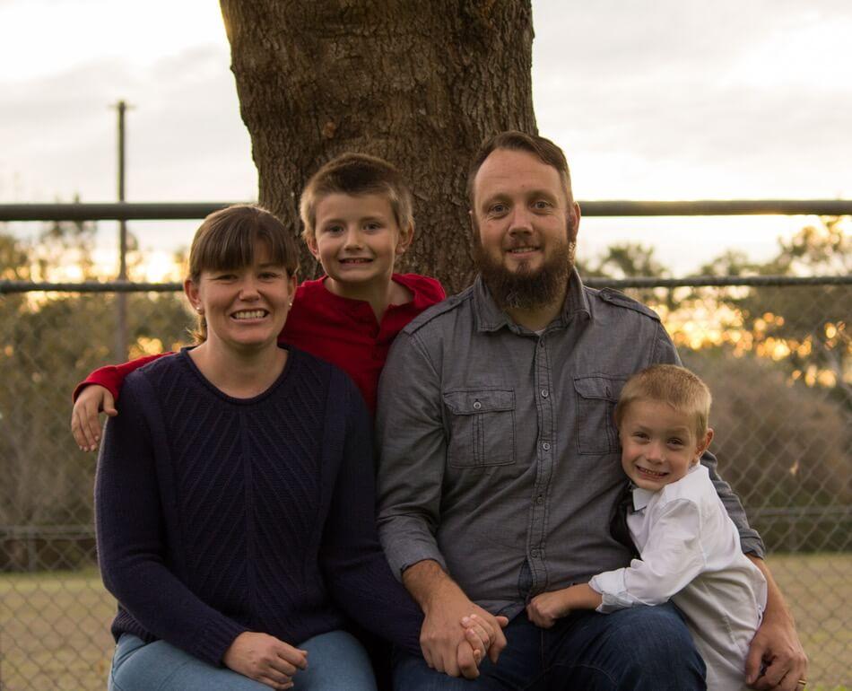 pastor darryl's family
